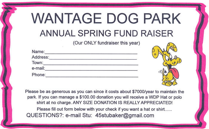 Annual Spring Fundraiser