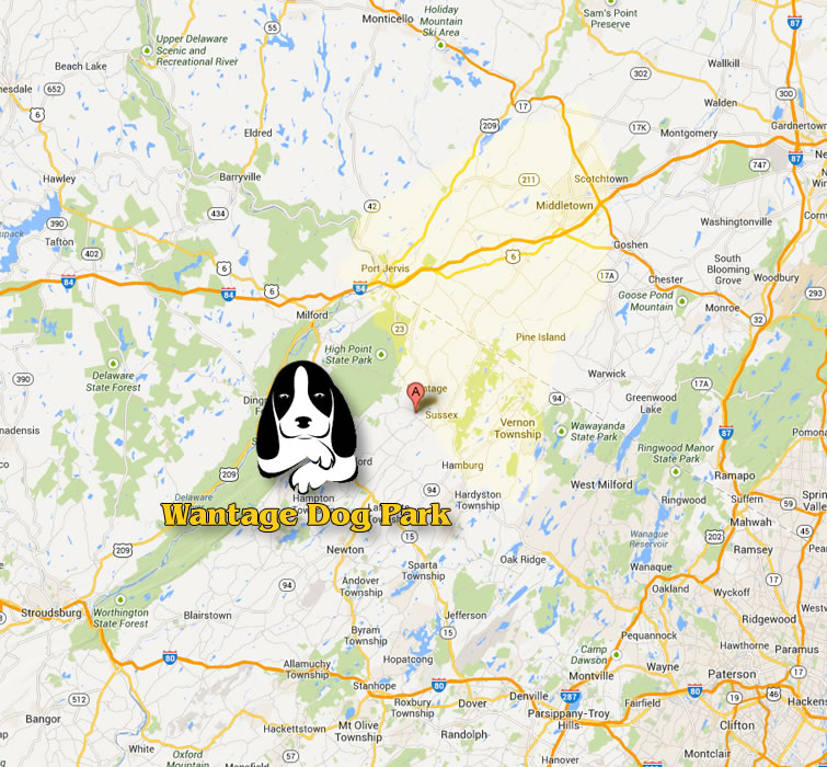 Our Location in Wantage, Sussex County, NJ